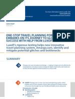 Case Study One Stop Travel Planning Portal Travel Luxoft for Amargo Com