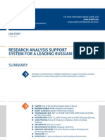 Case Study Research Analysis Support Banking Luxoft for One of the Top3largest Bank in Russia
