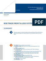 Case Study Risk Trade Profit Loss Banking Luxoft for a Top10global Investment Bank
