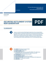 Case Study Securities Settlement Banking Luxoft for Top10largest Investment Bank