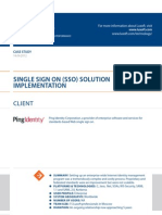 Case Study Single Sign on Solution Implementation Software Luxoft for Ping Identity