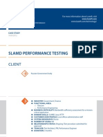 Case Study Slamd Performance Testing Performance Engineering Luxoft for Russian Government Body