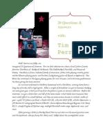 Tim Perry - 20 Q&A Series 1.1