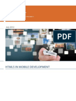 Whitepaper About Html5 in Mobile Development by Luxoft Software Development