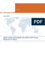 Whitepaper About Shifting Software Delivery Into High Gear With Agile by Luxoft Software Development