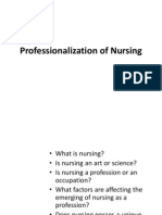 NCM 100 professionalization of nursing 2.ppt