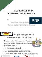 Metodos Basicos en La Determinacion de Precios