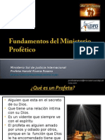 Fundamentos Del Ministerio Profético