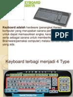 Mengenal Keyboard