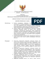Permen PU No. 7 Thn 2011 Ttg Standar Dan Pedoman Pengadaan Pekerjaan Konstruksi Dan Jasa Konsultansi