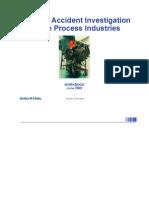 Accident Investigation Workbook Presenting