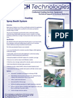 CB100 Conformal Coating Spray System Technical Brochure 160209
