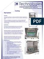 DS101 Conformal Coating Dip System Technical Brochure 100209