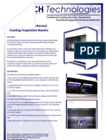IB100 Conformal Coating Inspection Booth Technical Brochure 170209