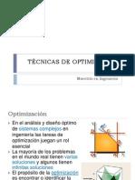 Capitulo 1 Tecnicas de Optimizacion Generalidades.pptx