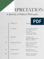 Interpretation, Vol. 7-3