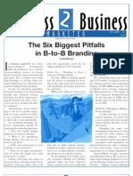 Pitfalls of BtoB Branding