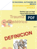 Trauma Obstetrico Final