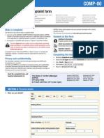 AHPRA Complaint Form