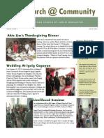 Tuao Newsletter January 2013