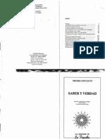 Foucault Michel-Saber y Verdad