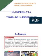 Empresa y  Producción