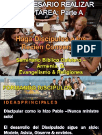 03. a- Es Necesario Realizar Una Tarea - Haga Discipulos