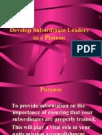 develops-subordinate-lead