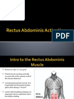 Rectus Abdominis Activation Study