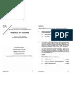 1996 Principles of Accounts
