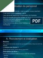 La Mobilisation Du Personnel 18-01-06