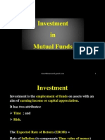 Investment in Mutual Fund