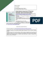 Structre of Polymer Blends Based On