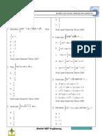Kumpulan Soal Matematika Kelas XII IPA