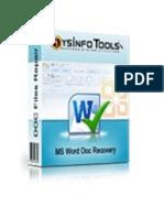 MS Word Doc Repair Software