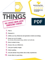 10 Things eBook - Content Generation