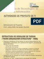 Actividades de Proyecto de TI
