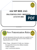fraternization-briefing