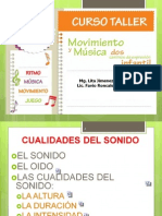 CURSO TALLER MOVIMIENTO Y MUSICA DOS CAMINOS DE EXPRESIÓN INFANTIL