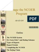 manage-the-ncoer-programs