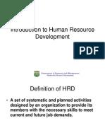 HRD Development