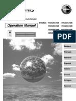 fd(kx)s-c - cd(kx)s-c manual de operación - español