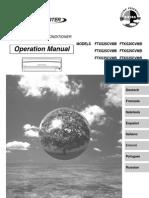 ft(kx)s-c manual de operación español