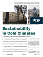 Sustainability in Cold Climate