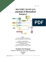 Fundamentals of Biomedical Science 1