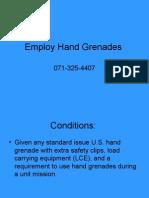 employ-hand-grenades