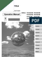 manual de operación fdxs25-35e