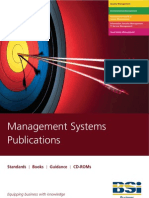 Management Standards Publications