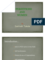 Superstitions & Women by Santosh Takale