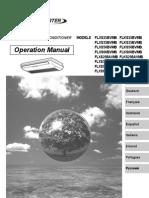 manual de operación flxs25-60b